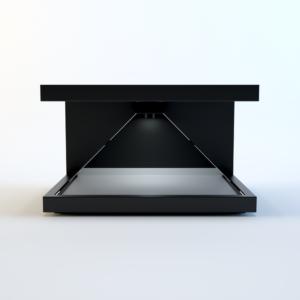Elsőként Magyarországon az egyedi 3D Holografikus Display!